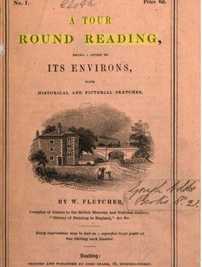 Aldermaston, taken from A Tour Round Reading by W Fletcher, 1840