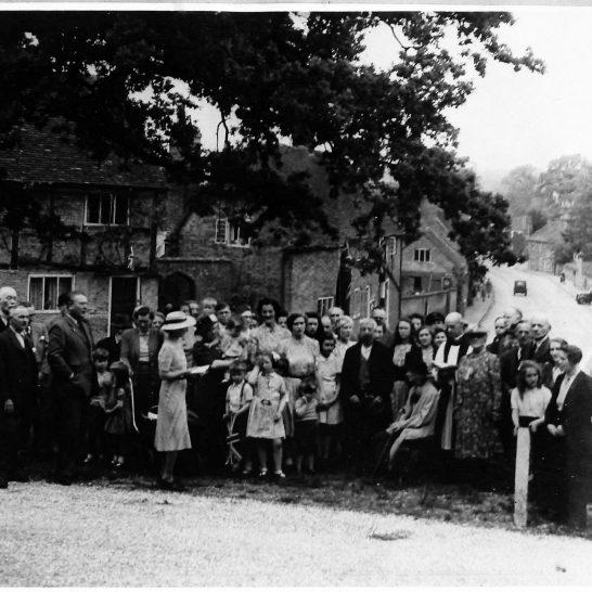 V.E. Day Village Photo