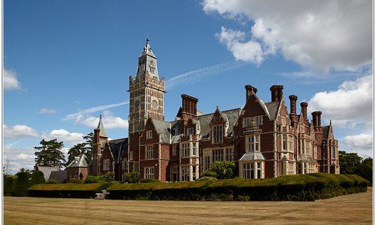 Aldermaston Court - architectural historians' comments on the building