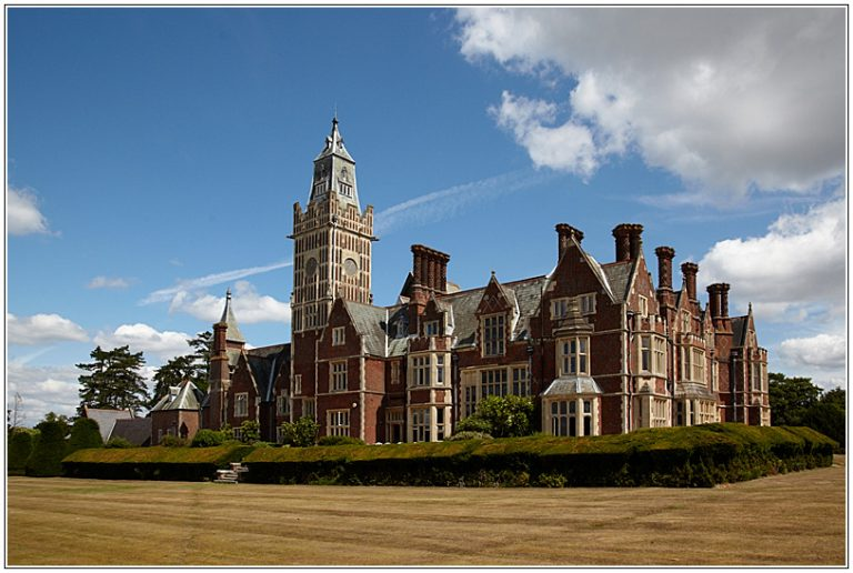 Aldermaston Court - architectural historians' comments on the building