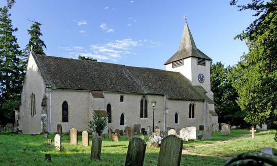 St. Mary's Church, Church Road, Aldermaston