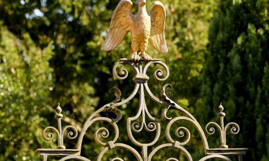 Detail of Eagle Gates, Aldermaston Park, Aldermaston