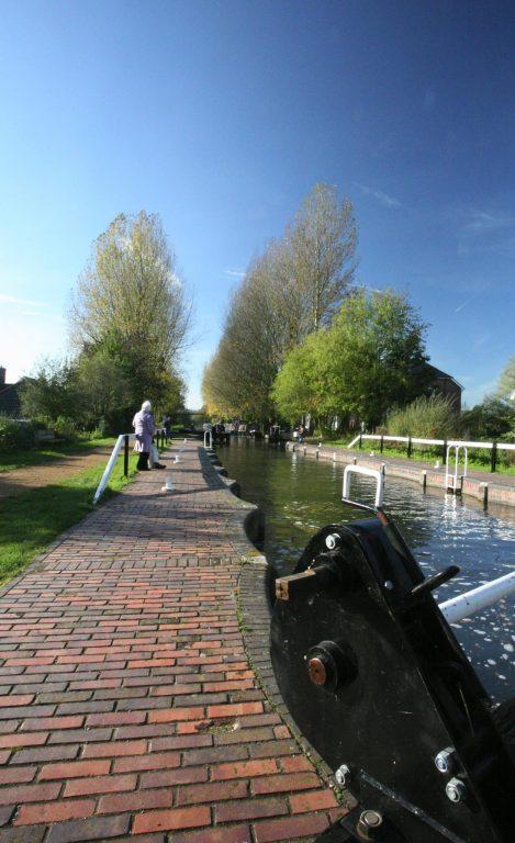Kennet and Avon Canal, Aldermaston Lock