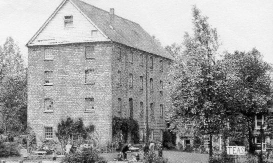 The Old Mill, Aldermaston 1920's