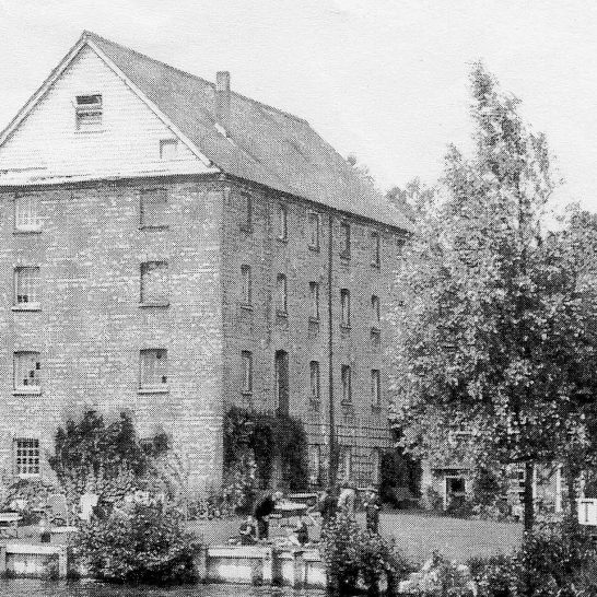 The Old Mill, Aldermaston 1920's