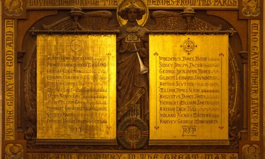 Roll of Honour (1914-18)