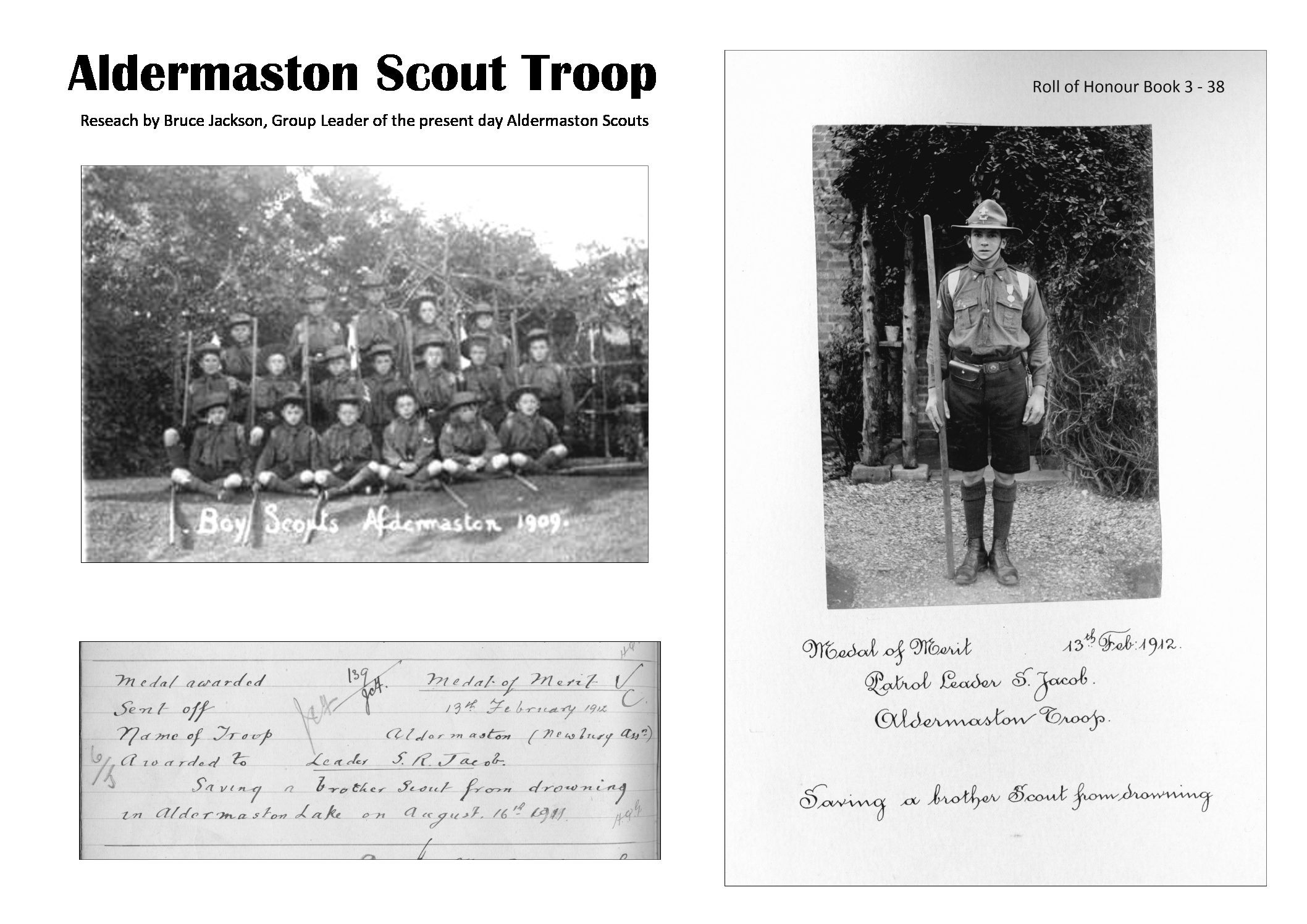 Exhibit: Aldermaston Scout Troop