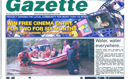2007 Flood - press coverage