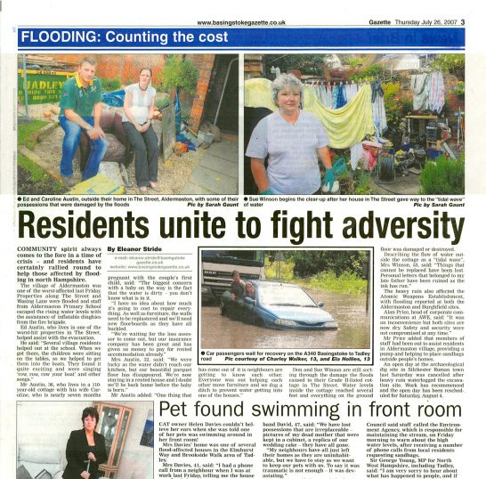 Flooding: counting the cost | Basingstoke Gazette