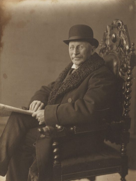 Charles Edward Keyser by Walton Adams | © National Portrait Gallery, London