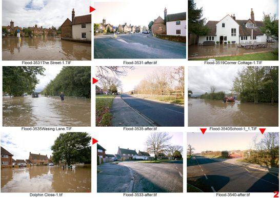 Photos of the 2007 flood and afterwards