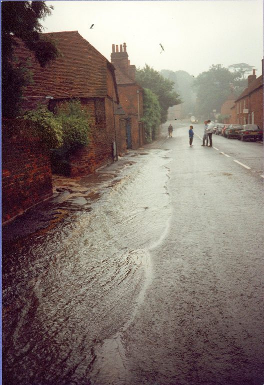 The Street after the flood