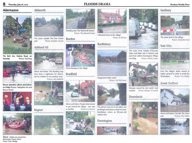 Floods Drama | Newbury Weekly News