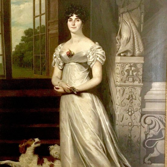 Lady Pepperell-Congreve | unknown artist, in the collection of Peter J Hanley