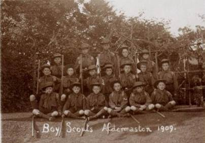 Boy Scouts Aldermaston 1909