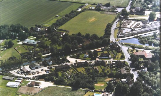 Aerial photo, Aldermaston Wharf