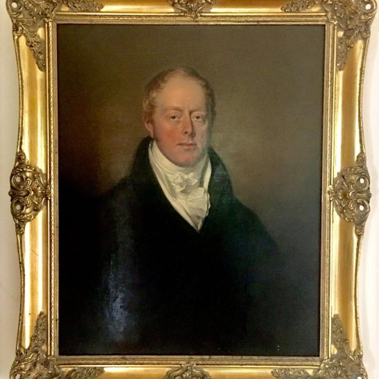 Major William Congreve | unknown artist, in the collection of Peter J Hanley