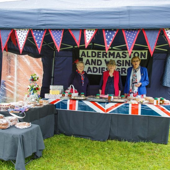 Queens 90th - enjoying the fete