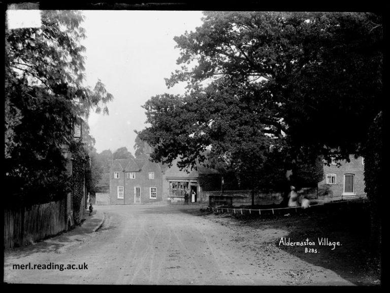 Aldermaston Village 1910 | Museum of English Rural Life