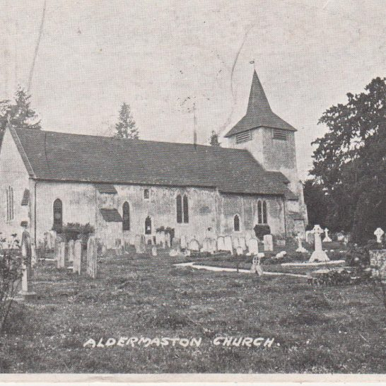 Postcard of St Mary's circa 1905