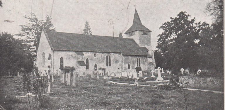 St Mary The Virgin, Aldermaston c.1905