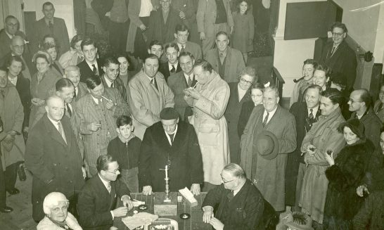 1953 Candle Auction
