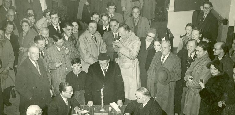 Candle Auction 1953