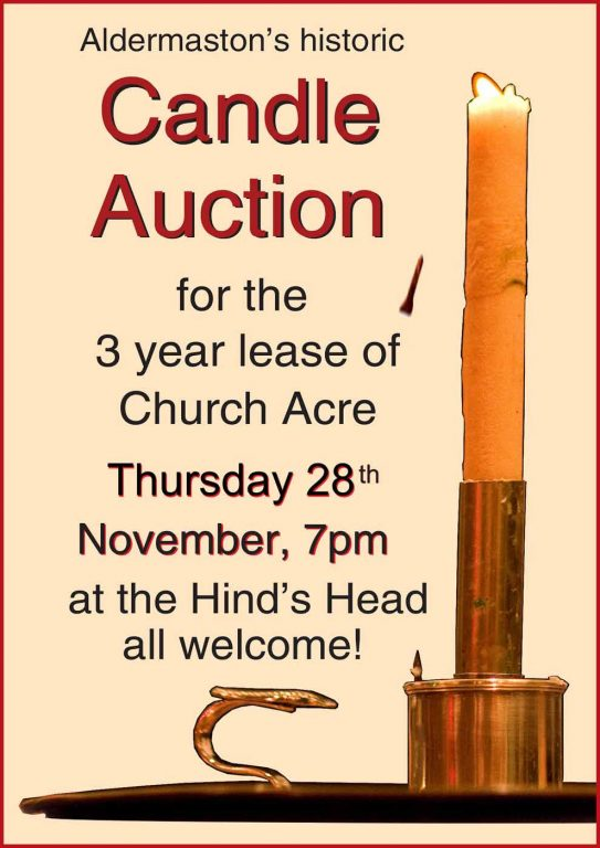 2019 Candle Auction Poster