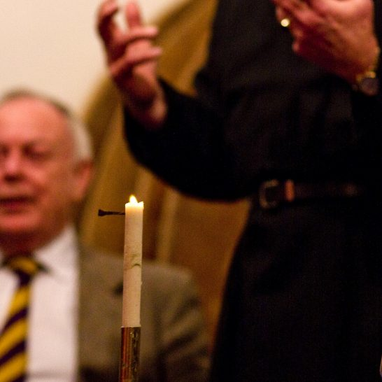 2007 Candle Auction | Peter Oldridge
