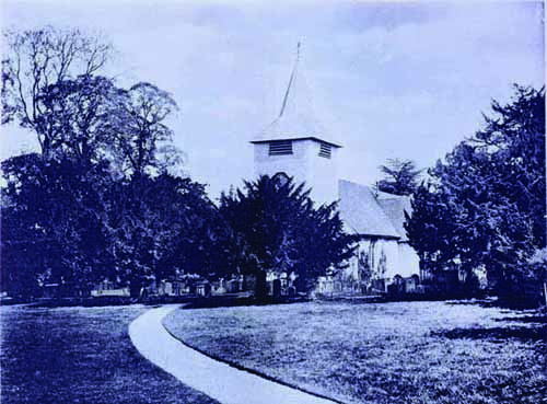 Aldermaston Church- images from the Past