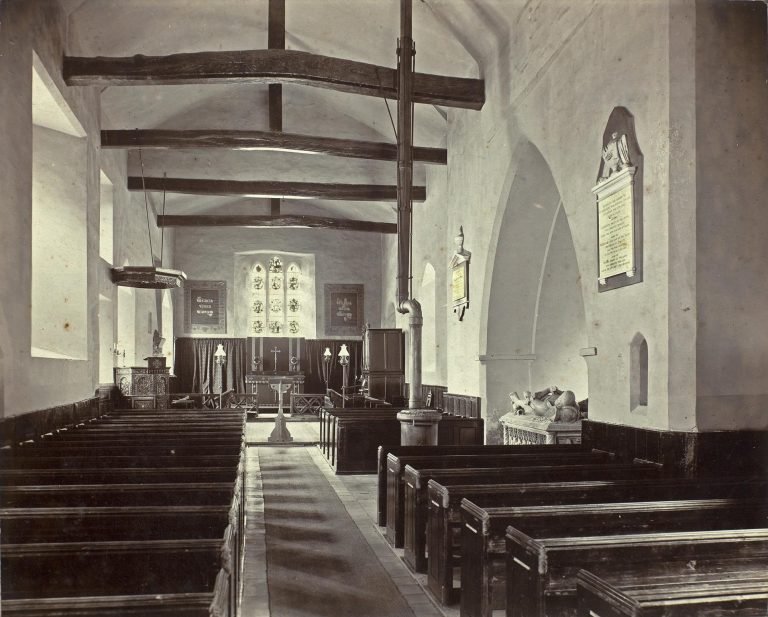 Church historical-internal eastwards