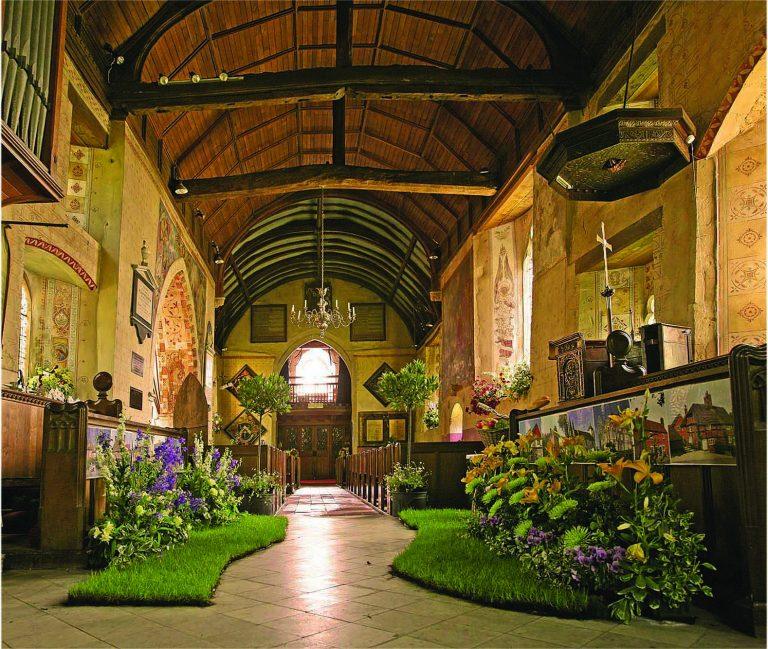 Aldermaston Church- images from the Past   Peter Oldridge