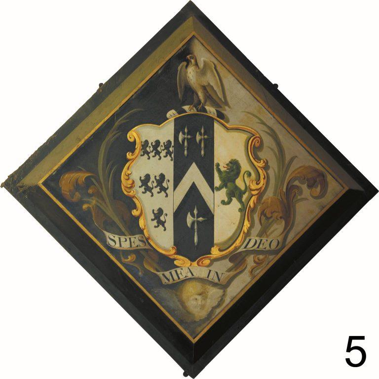 Heraldry in Aldermaston Church: by Mike Wall, 2007 | Peter Oldridge