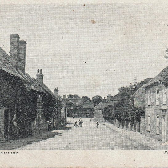 Postcard The Street c1920 | J W Righton, Newbury