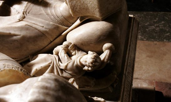 Tomb of Sir George Forster in Aldermaston Church- detail 20