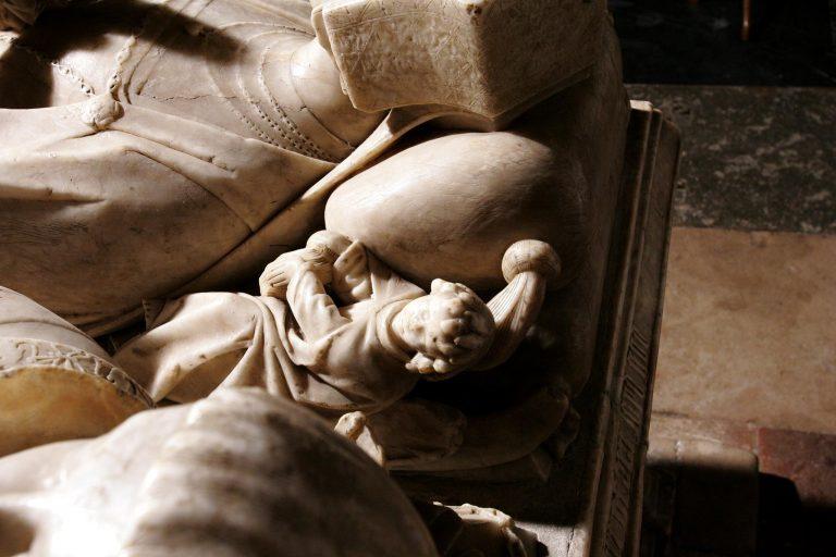 Tomb of Sir George Forster in Aldermaston Church- detail 20