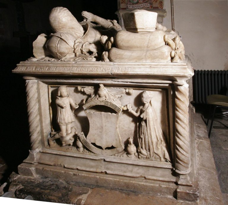 Tomb of Sir George Forster in Aldermaston Church- image 25
