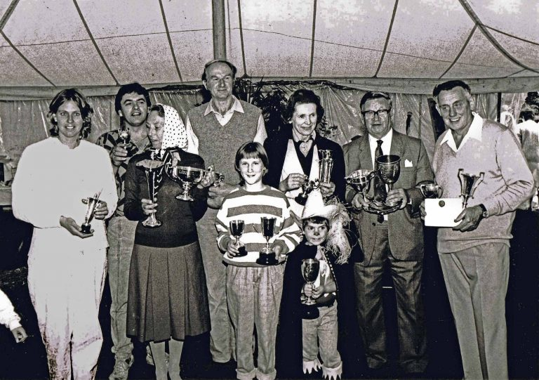 Winners from the past: Sarah Urquhart, John Vanstone, David Luker, Julia Porter, Pam Hall, Ben Arlott and Don Sims...