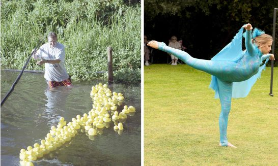 Aldermaston & Wasing Show- Duck Derby and Dancer