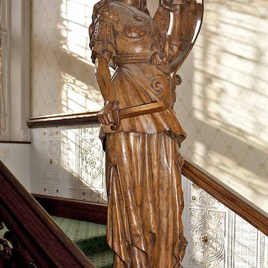 Statue of Minerva, 2nd view | Peter Oldridge