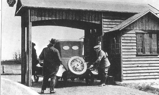 England's first petrol station