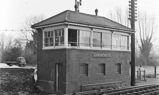 Aldermaston Signal Box