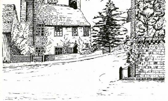 Parish Mag cover- Corner Cottage