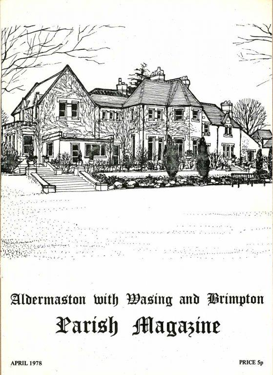 Parish mag cover- Little Park, Brimpton