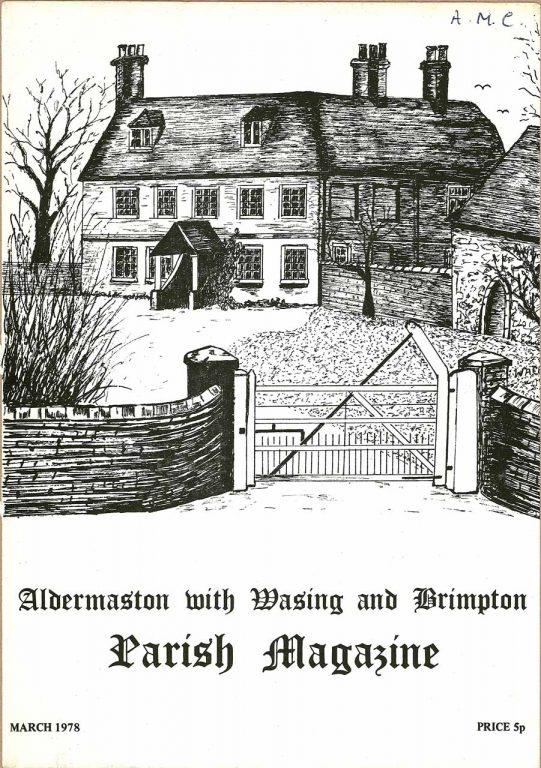 Parish mag cover- Manor Farm, Brimpton