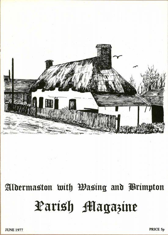 Parish mag cover- The Old Post Office, Brimpton