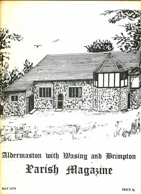 Parish mag cover- Aldermaston Parish Hall