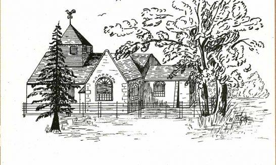 Parish mag cover- Church of St Nicholas Wasing