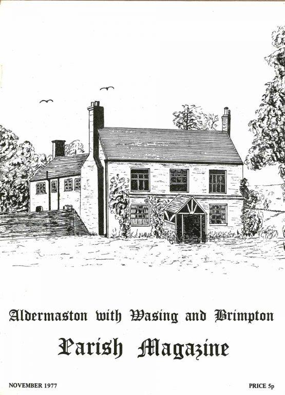Parish mag cover- The Old Farmhouse, Aldermaston