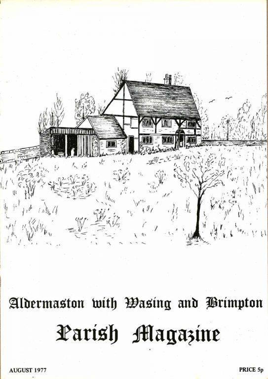 Parish mag cover- Upper Church Farm